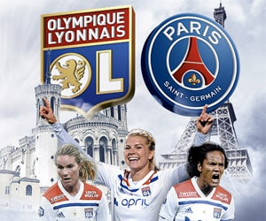 Bon plan 2 places pour le match de D1 féminine OL - PSG OFFERTES dès 40€ d'achats