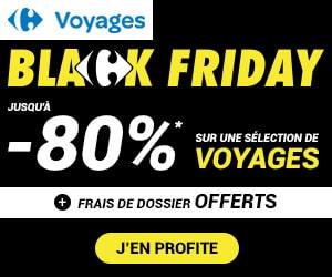 Bon plan Black Friday : jusqu'à -80 % sur les séjours, croisières & campings + frais de dossier offerts