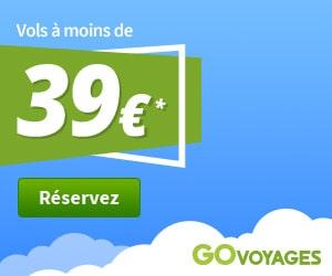 Bon plan Des vols à moins de 39 €
