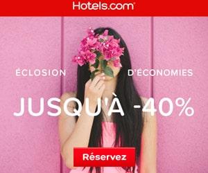 Bon plan Jusqu'à 40% de réduction sur une sélection d'hôtels