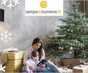 Bon plan Noël : jusqu'à -80% sur une sélection de lampes