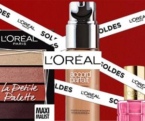 Code promo Soldes : jusqu'à - 70% sur le maquillage, le soin visage, les coffrets + 10 suppl. avec code promo