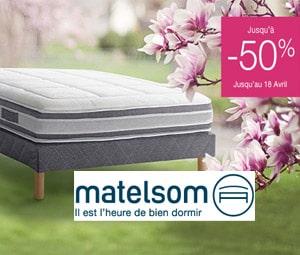 Bon plan Jusqu'à -50% sur une sélection de linge de lit et matelas