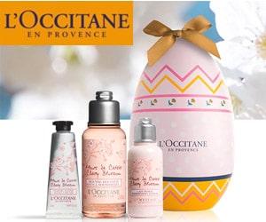 Bon plan Offrez un œuf de Pâques L'Occitane et ses 3 soins corps pour 16€