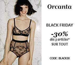 Code promo Black Friday :- 30% de remise sur tout le site dès 3 articles achetés