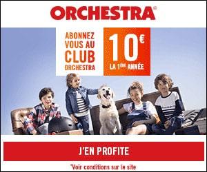 Bon plan Orchestra Days : jusqu'à -70% + 10€ l'abonnement la première année