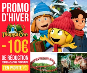 Code promo 10€ de réduction sur tickets ≥ 1m