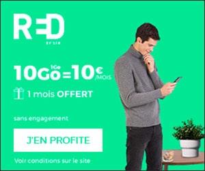 Bon plan 10€ = 10Go dont 1 mois offert