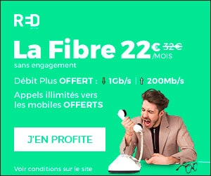 Bon plan RED Box sans engagement à 22€/mois, sans engagement