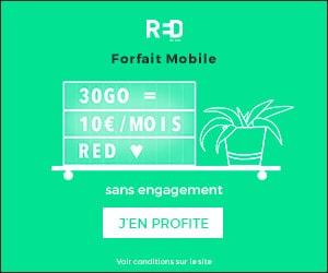 Bon plan Promo Forfait Mobile 10€/Mois 30 Gigas Sans Engagement