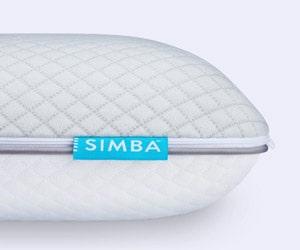 Code promo 2 oreillers Simba avec gel rafraîchissant OFFERTS pour l''achat d'un Matelas Simba Hybrid®