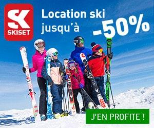 Code promo 10% supplémentaires cumulables avec la remise internet Skiset