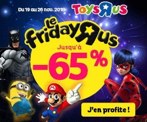 Bon plan Black Friday : jusqu'à -65% de remise sur vos jeux et jouets préférés