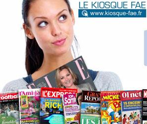 Kiosque-Fae Promo XXL : 18€ de remise pour toute commande