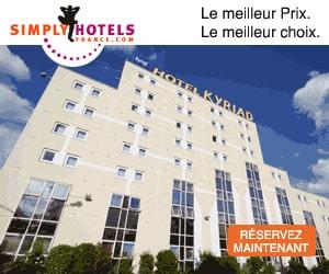 Bon plan Hôtel avec Petit-Déjeuner Inclus, à partir de 35,50€ par nuit - Simply Hotels France