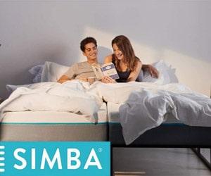 Cyber Monday : 30% de réduction sur le Matelas Simba Hybrid® + 1 protège-matelas GRATUIT