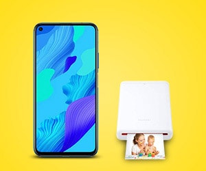 Bon plan Huawei nova 5T 128Go bleu + pocket printer à 359€ au lieu de 528€