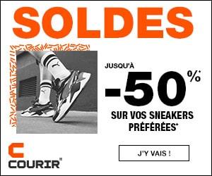 Soldes hiver, jusqu'à -50% sur une sélection de sneakers